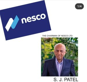 Nesco Logo and Chairman Picture