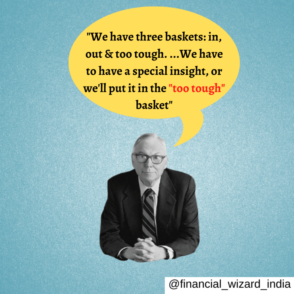 Charlie Munger Quotes on investing