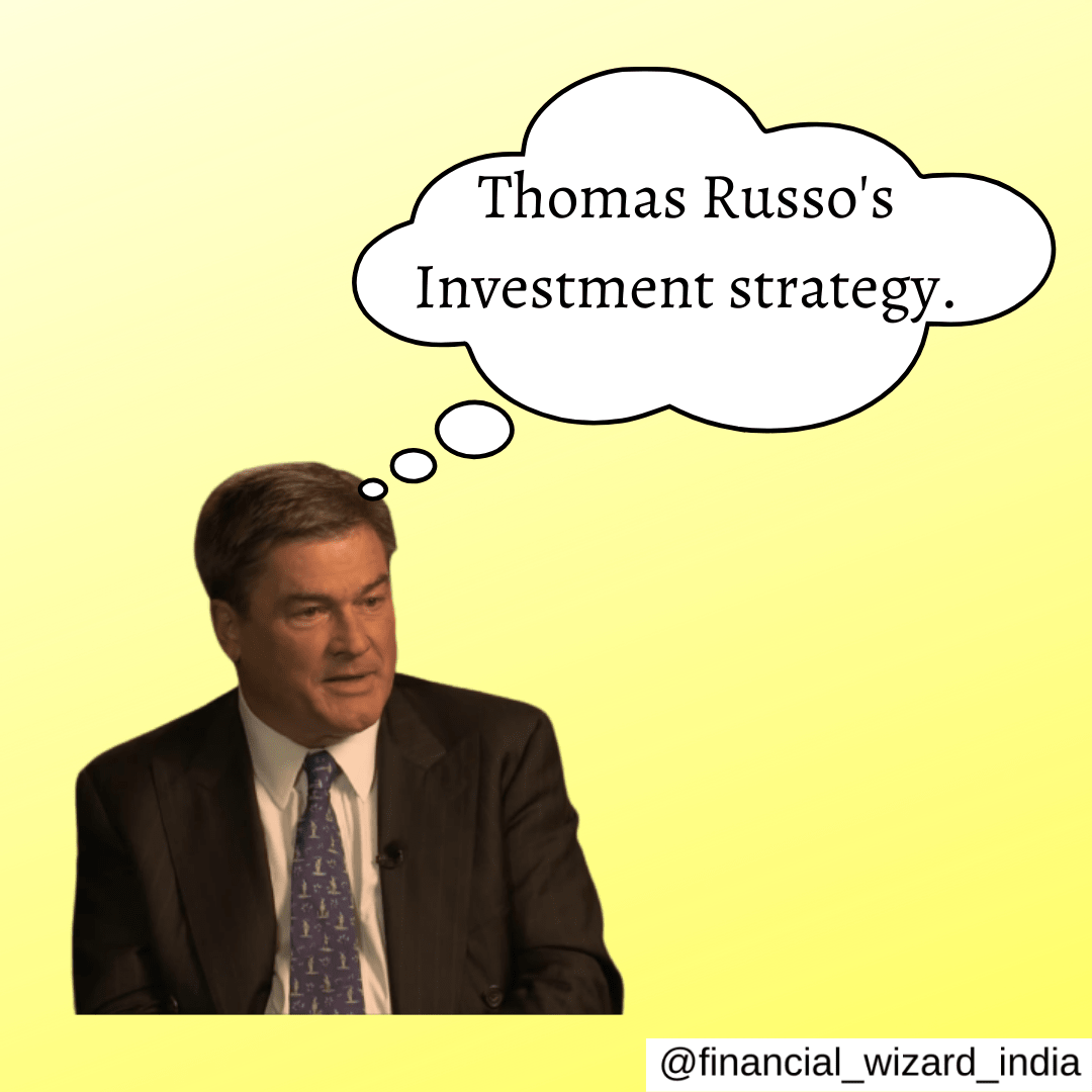 Thomas Russo's Investment strategy.