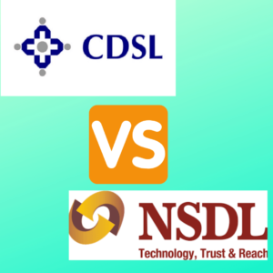 Role of CDSL and NSDL