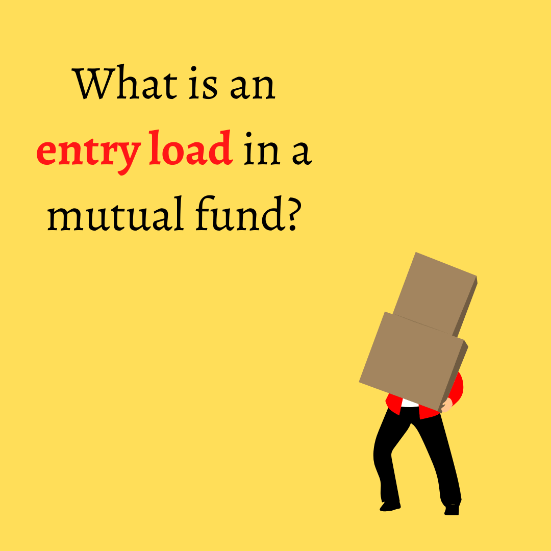 Entry load in Mutual funds